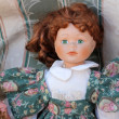 Old doll — Stock Photo