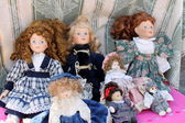 Old dolls — Stock Photo