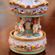 Stock Photo: Miniature carousel