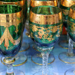 Stock Photo: Old glasses decorated