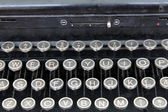 Detail of an old typewriter — Stock Photo