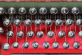 Detail of an old typewriter — ストック写真
