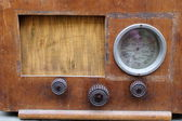 Old radio — Stock Photo