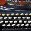 Old typewriter — Foto Stock #34645363