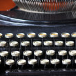 Old typewriter — Stock fotografie #34645363