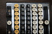 Old cash register — Stock Photo