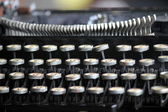 Old typewriter — Stockfoto
