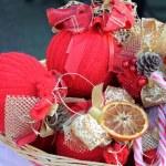 Noel süslemeleri — Stok fotoğraf