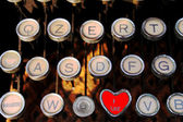 Like on old typewriter — Stockfoto