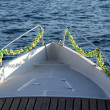 Stock Photo: Boat on lake
