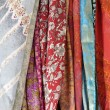 Stock Photo: Colored fabrics