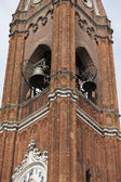 Old steeple of the church — Stock Photo