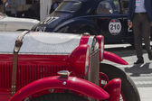 One thousand miles race of vintage car 15 May2014 — Stock Photo