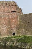 Antique ancient walls of castle — Stock Photo