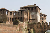 Antique ancient walls of castle — Foto Stock