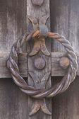 古い木製のドアの詳細 — ストック写真
