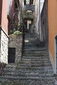 Gatorna i en typisk by — Stockfoto