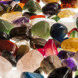 Semi Precious Gem Stones - Stock Photo