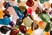 Semi Precious Gem Stones — Stock Photo