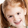 Lovely Three Year Old Girl — Stock Photo