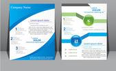 Company Brochure — Stock Vector