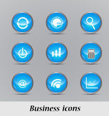 Business icon set — Stockvektor