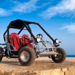 Buggy 4x4 on The Beach — Stock Photo