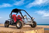 Buggy 4x4 on The Beach — Stock Photo
