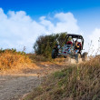 Stock Photo: Buggy 4x4 Jumping