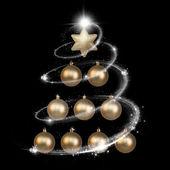 Weihnachten und neues jahr dekorationen — Stockfoto