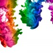 Rainbow of Acrylic Ink in Water. Color Explosion — Stock Photo #39016635
