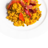 Paella. Typical Spanish Food — Stock Photo