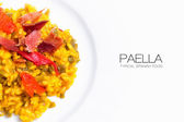 Paella. Typical Spanish Food — Stock fotografie