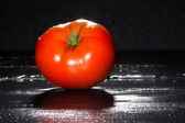 Fresh Ripe and Fleshy Tomato — Stock Photo