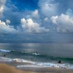 Storm on the Beach. Tarifa. Cadiz. Andalusia — Stock Photo