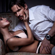 Royalty-Free Stock Photo: Fashion style photo of sexy couple