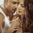 Foto de Stock  : Portrait of sensual couple