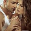 Portrait of sensual couple — Stock Photo