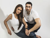 Sexy couple — Stock Photo