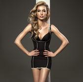 Blond beautiful woman — Stock Photo