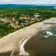 Costa Rica Beach from the Air - Stock Photo