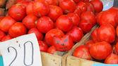 Smile tomato — Stock Photo