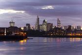 London skyline by night — Stock Photo