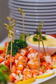 Tiger shrimps — Stockfoto