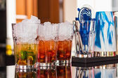 Summer alcoholic refreshmen — Stockfoto