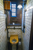 Retro toilet in an old restaurant — ストック写真