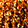 Abstract orange lights on background — Stock Photo