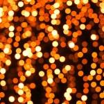 Abstract orange lights on background — Stock Photo