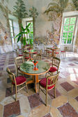 Cafe in the baroque Belvedere — Stockfoto