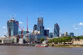 London's financial center — Stock Photo